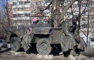 Памятник военным шоферам