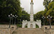 Нижний памятник Владимиру Великому - памятник Крещению Киевской Руси - памятник Магдебургскому праву